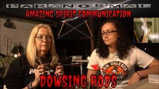 "SPIRIT COMMUNICATION USING DOWSING RODS ""AMAZING RESULTS""!!!!"