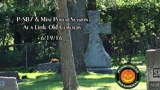 P-SB7 Spirit Box Session Using My Mini Portal at a Little Cemetery On 6/19/16