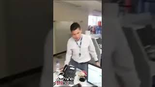 FANTASMA DE NIÑA EN BANCO