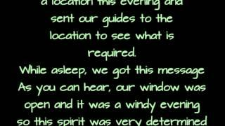"CLASS ""A"" EVP recorded January 3rd 2014"