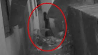Ghost accidentally caught on camera while shooting an abandoned house
