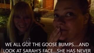 Ghost hunting women, silliness in the streets... Dead Son ends up proving he's with us!!