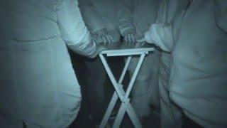 Landguard Fort ghost hunt - 30th January 2016 - Table Tilting