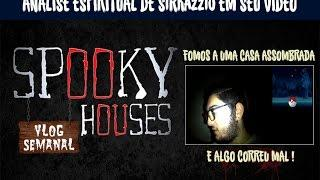 """Assunto Spooky Semanal - SirKazzio em seu vídeo """"Fomos a uma Casa Assombrada a algo Correu Mal!"""""""