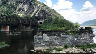 Harpers Ferry West Virginia Time Lapse.