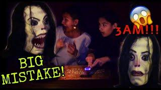 SUMMONING AYUWOKI MICHAEL JACKSON on the OUIJA BOARD at 3AM!! HE WAS HERE!!!