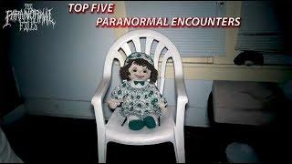 5 Scary Paranormal Encounters we've Captured on Video... | (Compilation) | THE PARANORMAL FILES