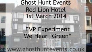 Brook Red Lion Hotel EVP 2 on 1st March 2014