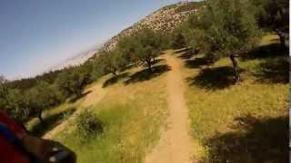 GoPro 3 - Downhill in Ymittos Greece