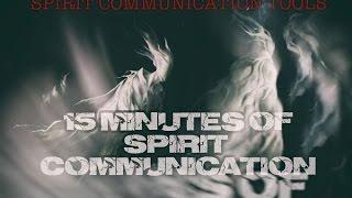 15 Amazing Minutes of Spirit Communication. Huff Paranornal