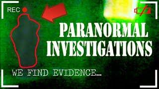 WELCOME TO Paranormal Investigations!!! (MyKilroyProductionsTV Company) 2013