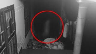 Ghostly shape passing caught on CCTV camera !! Unbelievable Ghost Sightings
