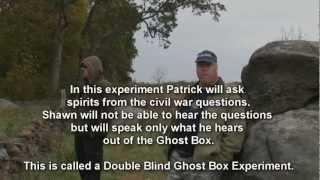 Double Blind Ghost Box Experiment with Patrick and Shawn.