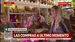 El Super Huevo de Pascua que regalamos en Cronica | Con Héctor Rossi