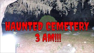HAUNTED ROSE CEMETERY @ 3 AM!!