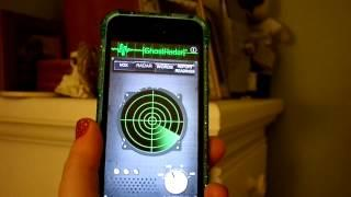 Nicole's Haunted Vlogs; the ghost radar.
