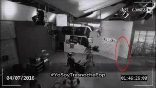 #YoSoyTrasnochePop | FANTASMA EN SET DE TV