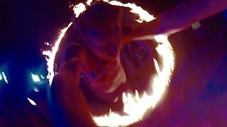 Jumping  Ring of Fire FULL MOON PARTY  | Thailand Series Ep15