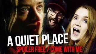 A Quiet Place (2018) COME WITH ME // SPOILER FREE - MINI REVIEW