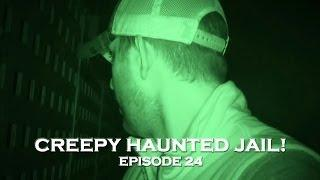 REAL Paranormal Activity Caught on Tape at Haunted Prison! (DE Ep. 24)