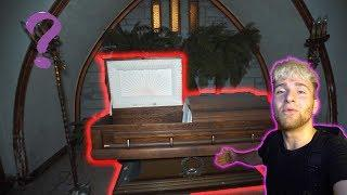 Abandoned House of Horrors Funeral Home ! Coffin Found