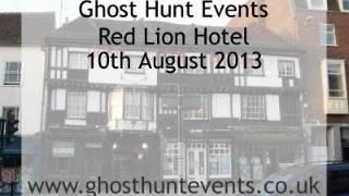 Red Lion Hotel, Colchester Ghost Hunt EVP