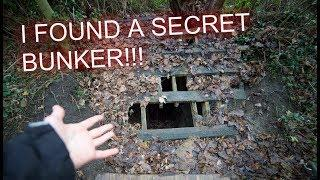 SECRET BUNKER FOUND AT AN ABANDONED HOUSE!