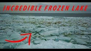 AMAZING FROZEN LAKE || PQ - VLOGS