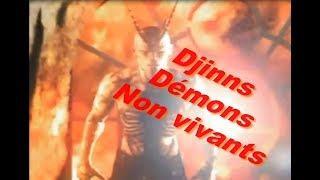 djinns, démon, non vivant