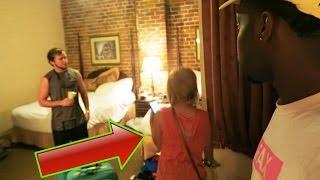 PARANORMAL ACTIVITY! Staying In One Of The Most Haunted Hotel In New Orleans For Halloween! WE LEFT!