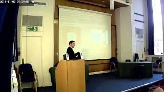 Ashley Knibb - Perception of Communication - Paracon UK 2014
