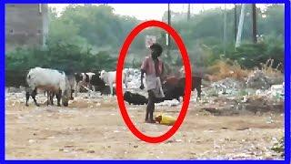 Old Man Saw Ghost Coming Behind Him To Attack Caught On Camera Real Ghost Viral Video scary stories