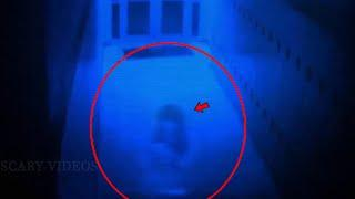 Real Life Paranormal Activity Caught On Camera | Ghost Caught On Camera From A School Corridor