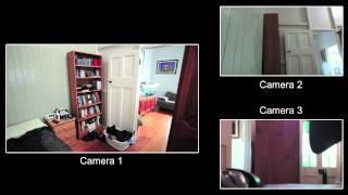 Poltergeist Activity - 23JUN2011 - multi cam view - NQGHOSTHUNTER