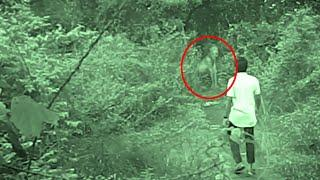 Ghost Caught While Exploring A Haunted Suicide Forest!! Most Haunted Spirit Video!!