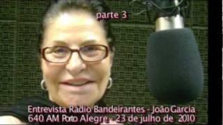 Manhã Bandeirante Radio Band AM Porto Alegre 23julho2010 Parte 3.wmv