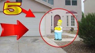 5 TIMES REAL SIMPSONS SIGHTINGS CAUGHT ON CAMERA & SPOTTED IN REAL LIFE!