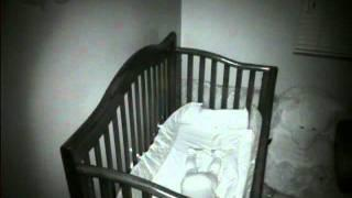 Orbs over baby on video monitor - Part 1 of 4
