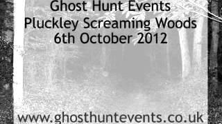 Pluckley Screaming Woods real ghost voice