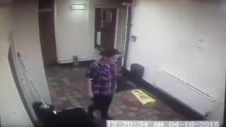 Poltergeist captado por camara de seguridad de bar