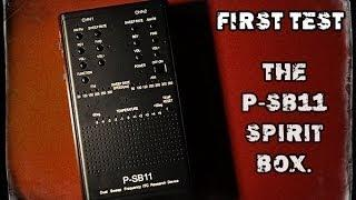 P-SB11 Spirit Box  - Talking to the Dead