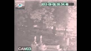 Another Strange Anomaly Captured on IR Camera during 2nd Ghost Tour (Prithviraj Cemetery)