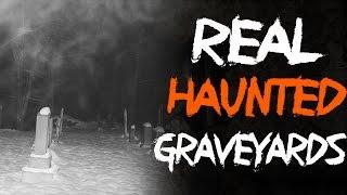 Top 5 Haunted Graveyards - Real Graveyard Ghosts Caught on Tape (#ghost #scary) @FrostmareTV