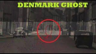Ghost caught on Denmark Street: Rare ghost caught tape of Ghost Scary Videos