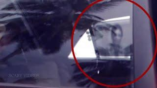 Ghost Caught On Camera From A Car Parking Area | Real Ghost Video | Scary Videos