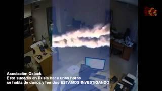 ALARMA!  Meteorito cae en Rusia COMPARTAN EL VIDEO @OxlackCastro