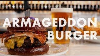 Slater's 50/50 Armageddon Burger