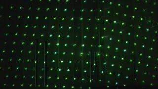 Laser grid test (50mw).