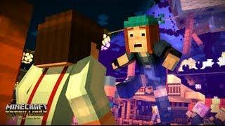The order of the stone?/Minecraft story mode ep1 FULL
