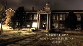 Poasttown Elementary School Paranormal Investigation